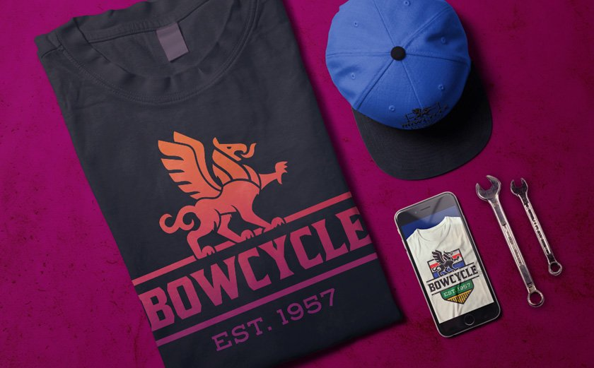 BOW CYCLE - BRAND IDENTITY & CLOTHING