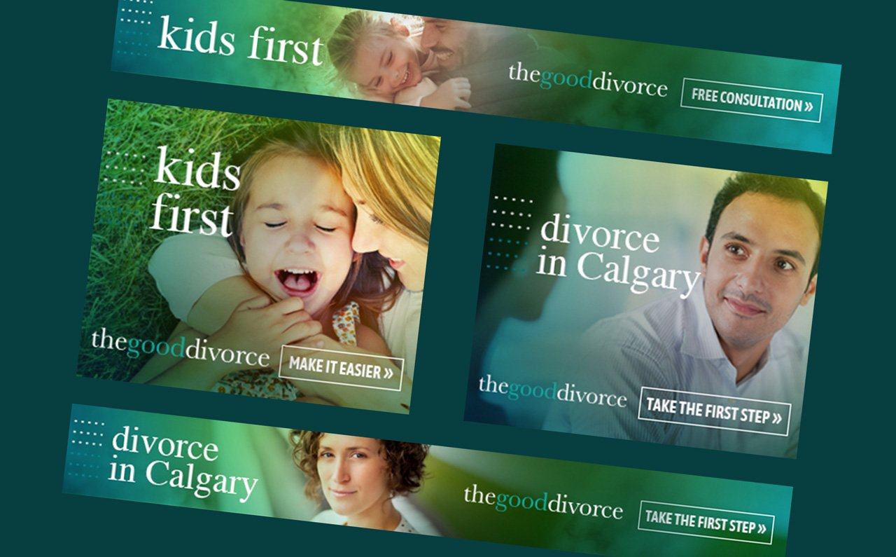 THE GOOD DIVORCE - DIGITAL MARKETING CAMPAIGN