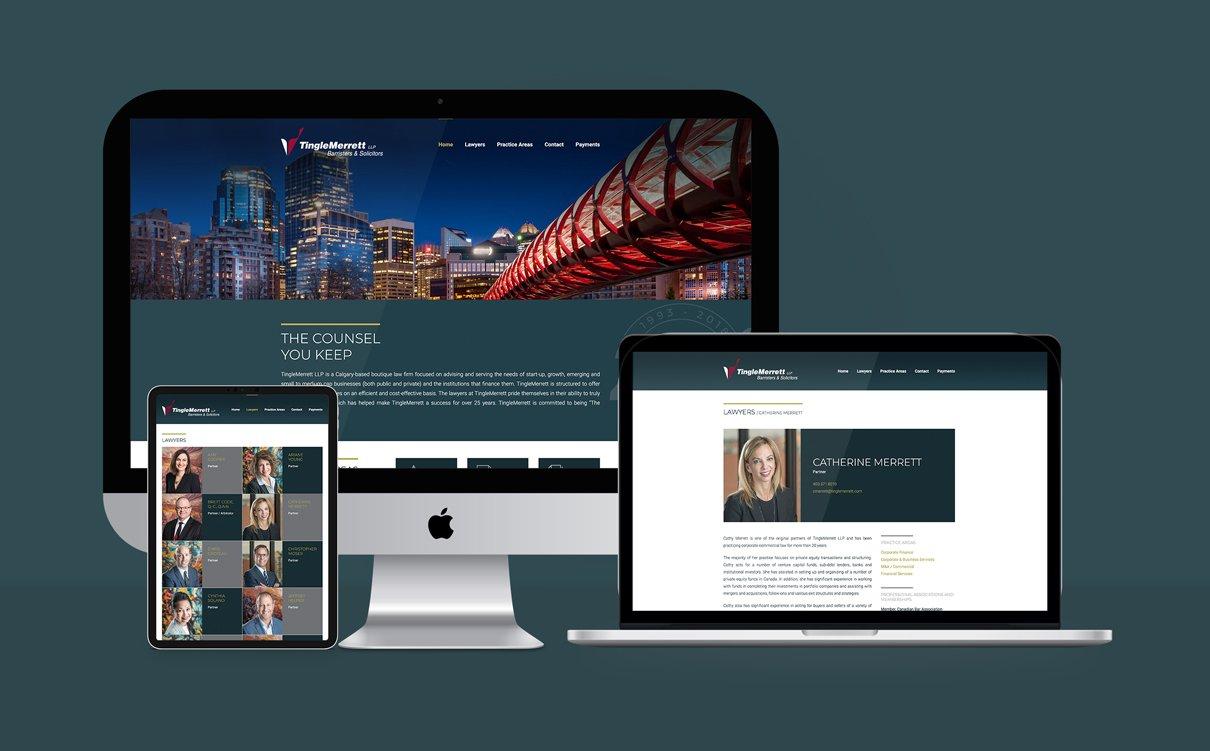 TINGLE MERRETT LLP - WEBSITE