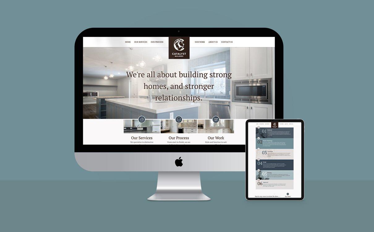 CATALYST BUILDERS - WEBSITE