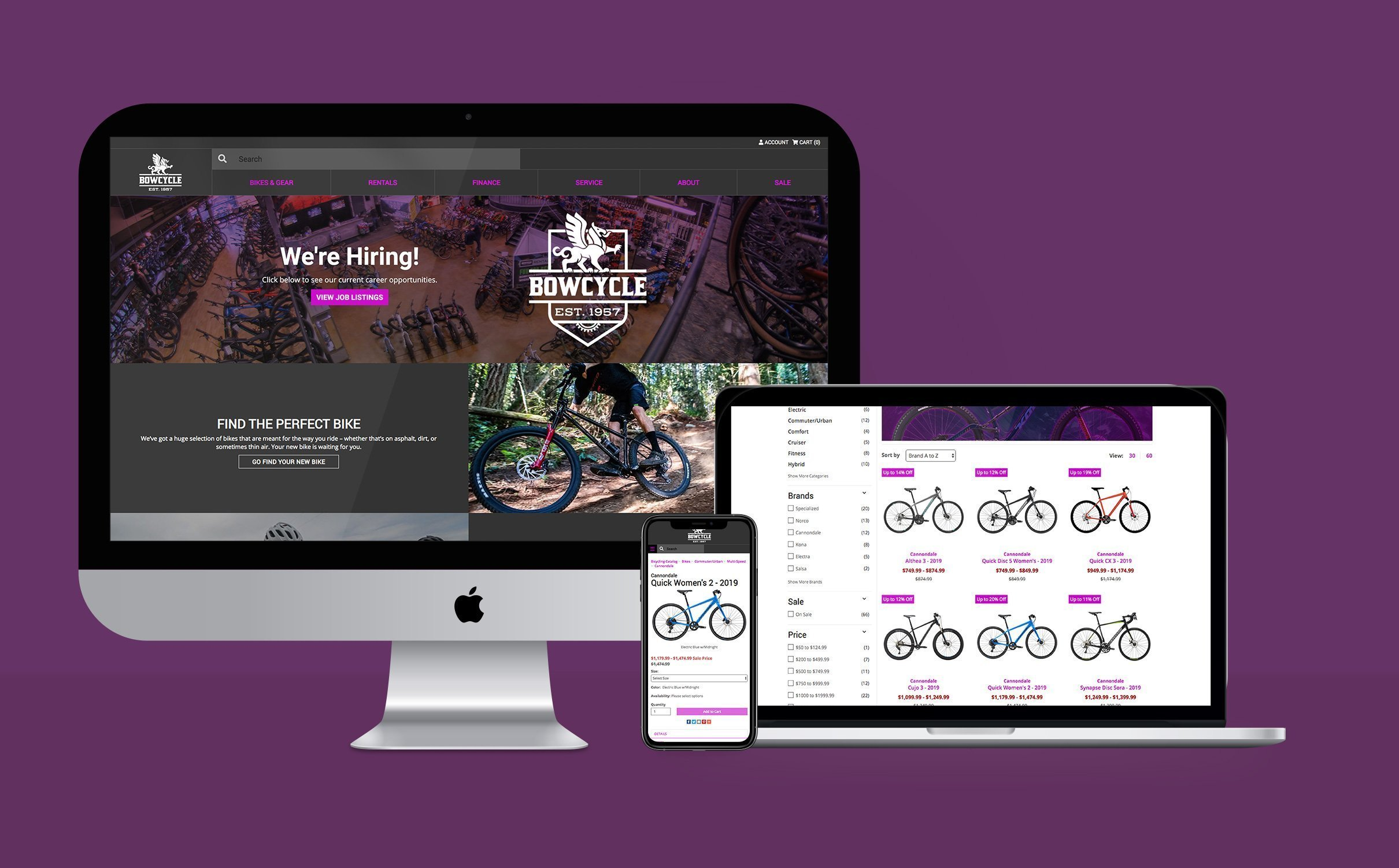BOW CYCLE - WEBSITE